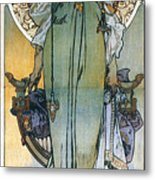 Mucha: Theatrical Poster Metal Print