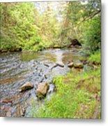 Mud Run, Pennsylvania, Pocono Mountain Stream Metal Print