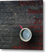 Muddy Cup New Paltz Metal Print