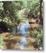 Muddy Hickory Creek  Metal Print
