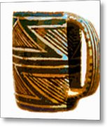 Mug Of The Anasazi Metal Print