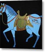 Mughal Horse Metal Print