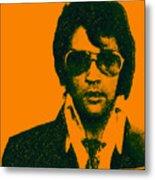 Mugshot Elvis Presley Metal Print