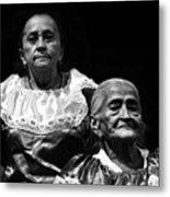 Mujeres Salvadorenas  Metal Print