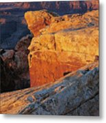 Muley Point Sunrise-v Metal Print