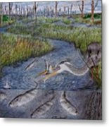 Mullet Creek Metal Print