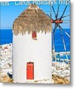 Multi Centre Greek Island Holidays Metal Print