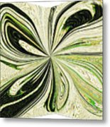 Multi-color Butterfly Pillow Metal Print
