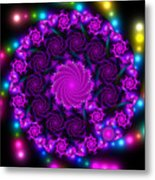 Multicolored Mosaica Metal Print