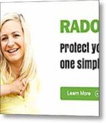Multifamily Radon Testing Metal Print