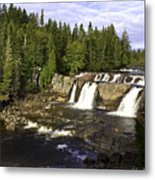 Multiple Waterfalls Metal Print by John Holloway
