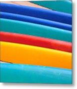 Multitude Of Surfboards Metal Print
