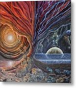 Multiverse 3 Metal Print
