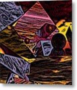 Multiverse II Metal Print