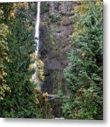 Multnomah Falls - 5 Metal Print