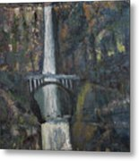 Multnomah Falls, Oregon Metal Print