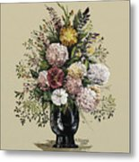 Mums Bouquet Metal Print