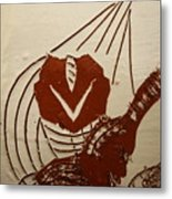 Mums Sweetheart - Tile Metal Print