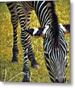 Munch Time Metal Print