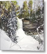 Munising Fall Upper Michigan Metal Print