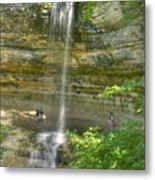 Munising Waterfall Metal Print