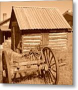 Murdock Carriage House - Circa 1800's Metal Print
