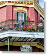 Muriels On The Square _ Nola Metal Print