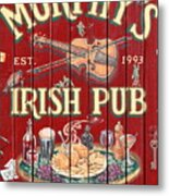 Murphy's Irish Pub - Sonoma California - 5d19290 Metal Print