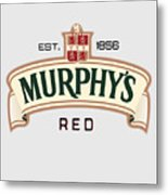 Murphys Irish Red Metal Print