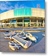Museum Of Contemporary Art In Zagreb Metal Print