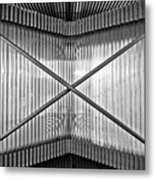 Museum Of Contemporary Art In Zagreb Detail Metal Print