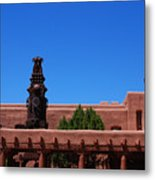 Museum Of Indian Arts And Culture Santa Fe Metal Print