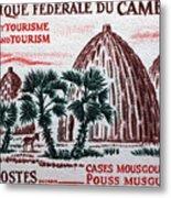 Musgum Houses Metal Print