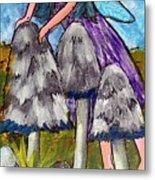 Mushroom Fairy #4 Metal Print