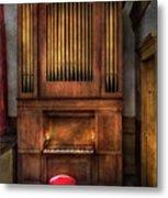 Music - Organist - What A Big Organ You Have  Metal Print
