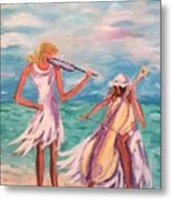 Music At The Water's Edge Metal Print