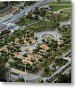 Music Concourse At Golden Gate Park In San Francisco Metal Print