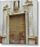 Music Door Cadiz Metal Print