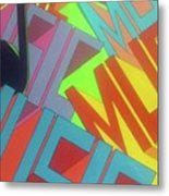 Music For The Eyes Metal Print