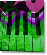 Music In Color Metal Print