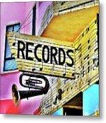 Its About Vinyl Metal Print