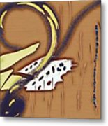 Music Note Metal Print