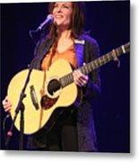 Musician Rosanne Cash Metal Print