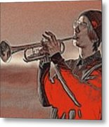 Musician Youth 4 Metal Print