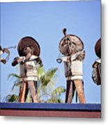 Musicians At The Hotel California Todos Santos Mx Metal Print