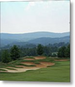 Musket Ridge Golf - In The Foothills Of The Catoctin Mountains - Par 5 - 10th Metal Print