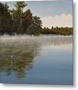 Muskoka Morning Mist Metal Print