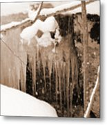 Muskoka Winter 5 Metal Print