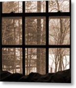 Muskoka Winter 7 Metal Print