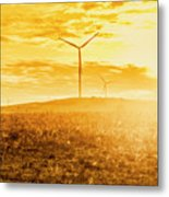Musselroe Wind Farm Metal Print